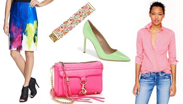 Brighten up the winter months with a pop of color