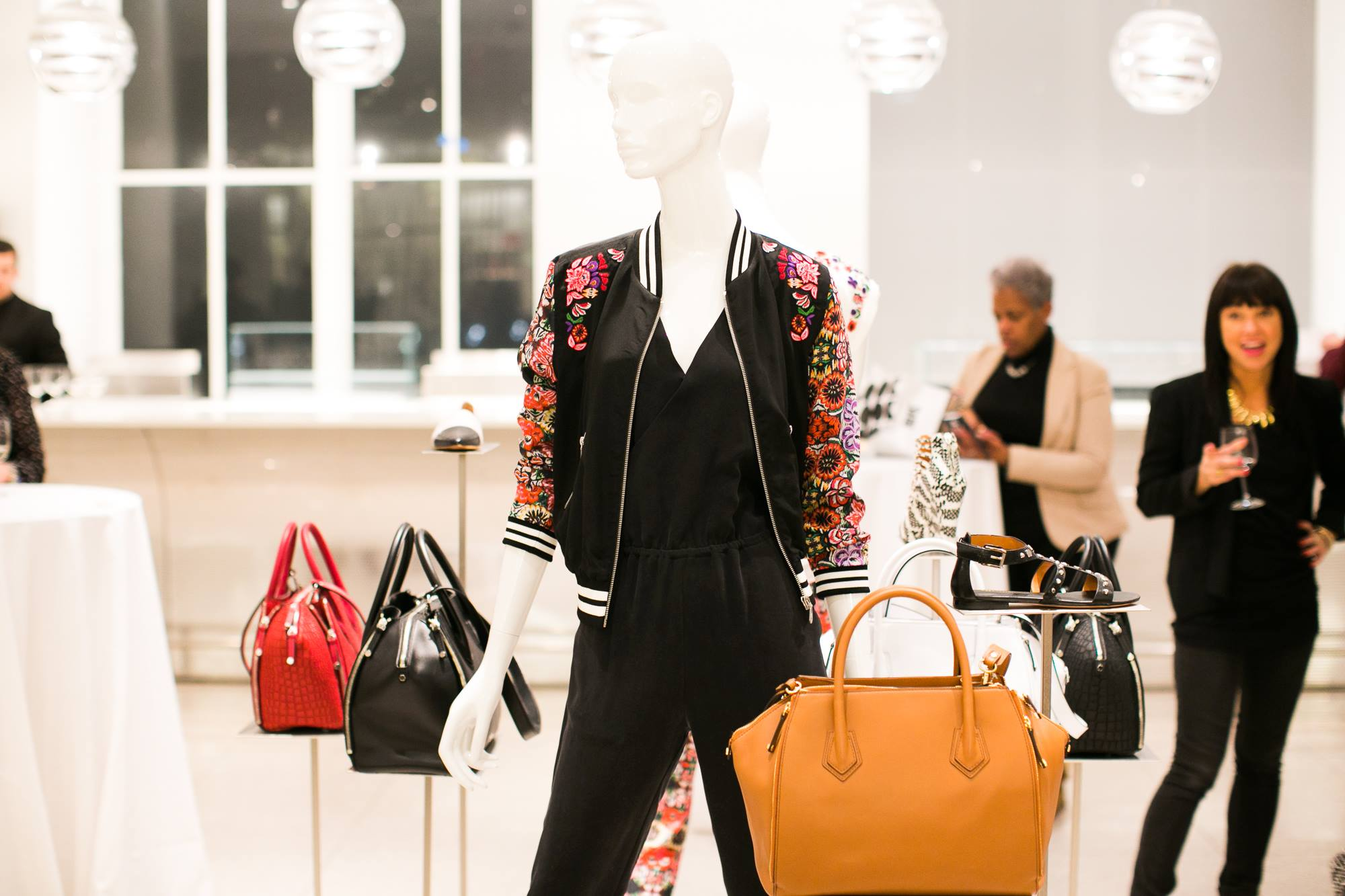 Rebecca Minkoff launches the Perry Satchel at exclusive AmEx event