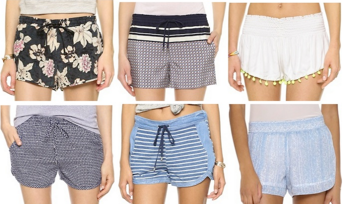 Who wears short shorts? 12 cute pairs for spring