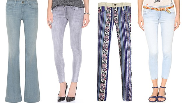 10 pairs of spring denim your closet is craving right now