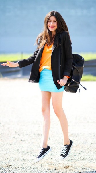 Spring street style: 9 bright looks to color your weekend