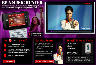 Verizon Gives Away Prince's New Single