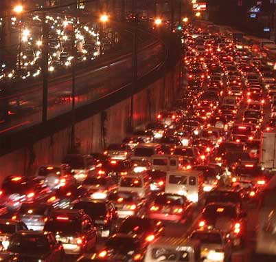 Mobile Phones Combat Traffic Congestion