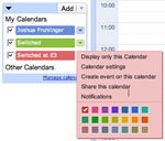 Google Calendar iPhone