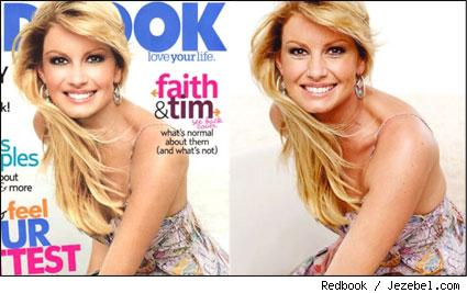 Worst Airbrushed Celebs of 2007: Faith Hill