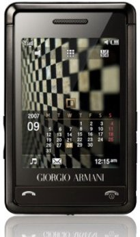 Armani Phone has Rape and Theft Alarm