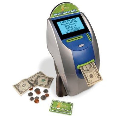 Children's ATM Toy Spits Out Real Cash