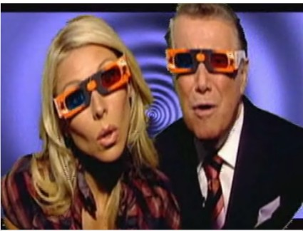 Regis and Kelly Go 3-D!