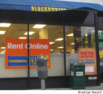 Blockbuster Heading for the Dustbins of History?