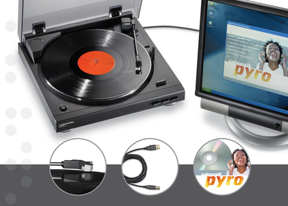 Audio-Technica AT-LP2D-USB Digital Turntable (Music Hound, $250 and Under)