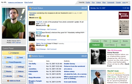 MySpace to Get a Face Lift