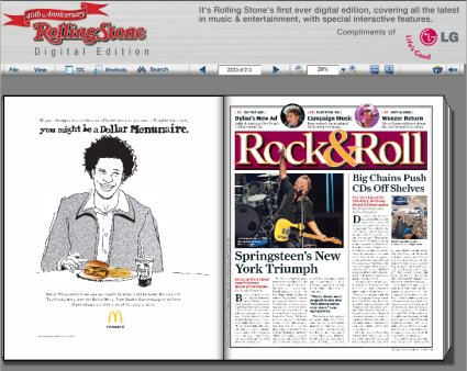 Rolling Stone Releases Digital Edition