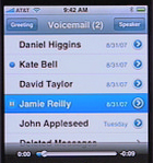 Apple iPhone Visual Voicemail