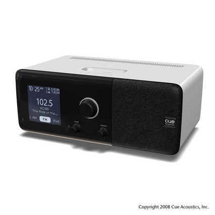 New High-End iPod Dock/Radio from Cue
