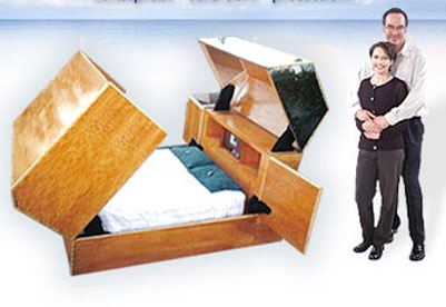 The Quantum Sleeper safe bed