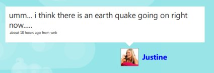 Twitter Plays a Central Role in Earthquake News