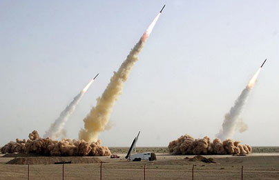 Iran Photoshops Pictures of Missile Test