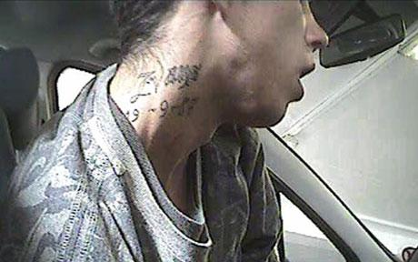 Thief Caught on Camera, Has Name and Birthday Tatooed on Neck