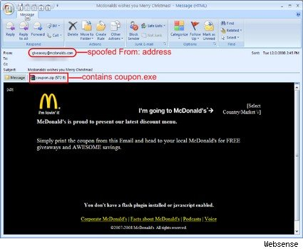 McDonald's and Other Familiar Brands Used for Viruses