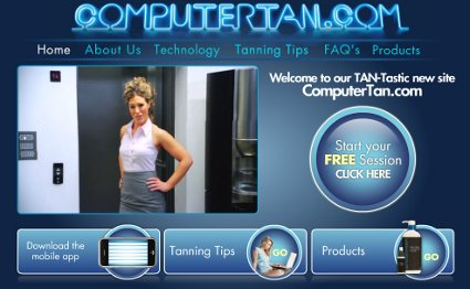 Charity Creates Fake 'Computer Tan' Site to Battle Skin Cancer