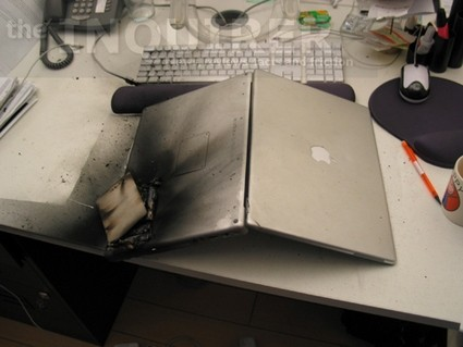 MacBook's Battery Goes Boom