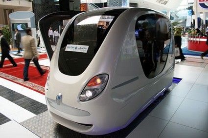 Driverless, Electric Taxis Set for Masdar City Debut