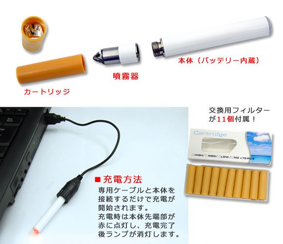 Thanko's USB-powered Health E-Cigarettes sound healthy