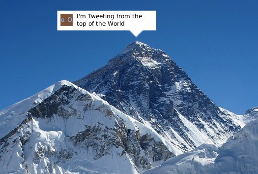 Cell Phone Reception Coming to Everest, Tweeting Not Far Behind