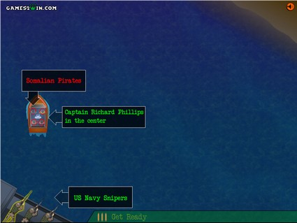 Save Captain Phillips in Web Game