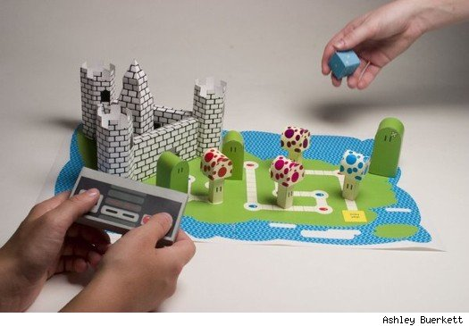 How To Make Mario Out Of Paper Instructions Oscarsteed1s Blog