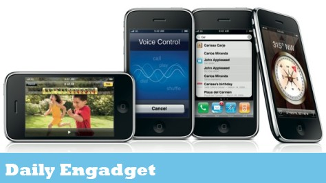 The Daily Engadget: iPhone 3G S Already Sold Out, New Dell Smart Phone Pictured