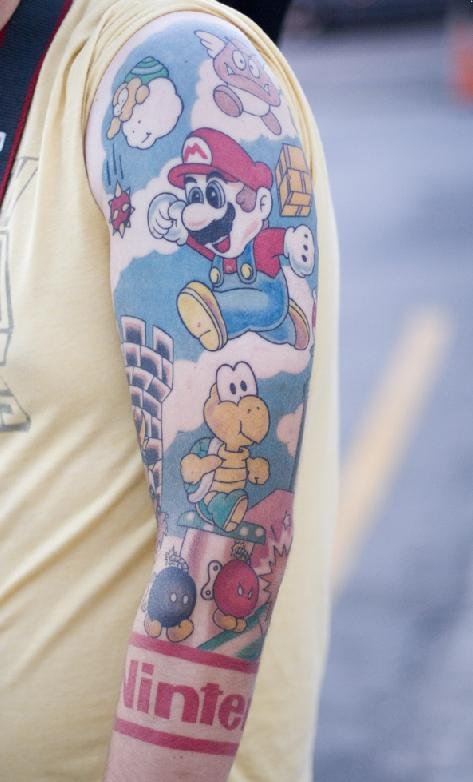 Nerd-tattoos are usually the laughingstock of the Internet, with barcodes