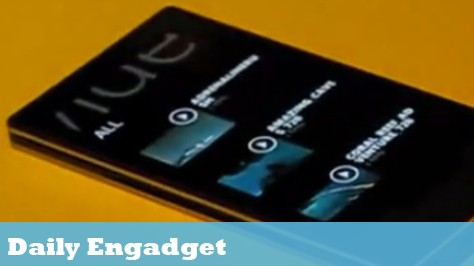 The Daily Engadget: Zune HD Caught on Video, and Apple and Google's Informal Deal