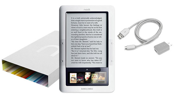 Barnes & Noble Nook E-Reader Reviewed, Kindle Killer?