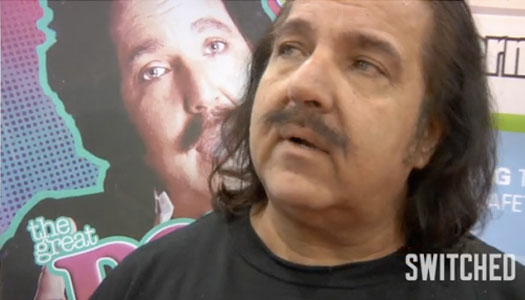 We weren't surprised to see Ron Jeremy in Vegas -- after all, the Adult ...