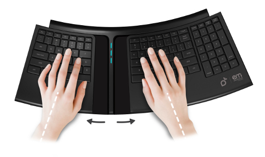 RSI Fighting Moving Keyboard Shown Off at CES