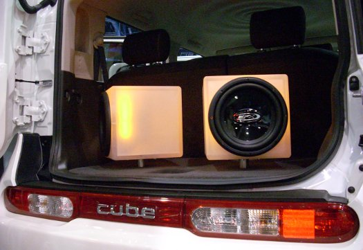 The Sole Display of Automotive Audio Excess at CES 2010