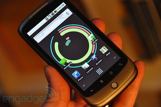 Hands-On With Official Google Phone: Nexus One