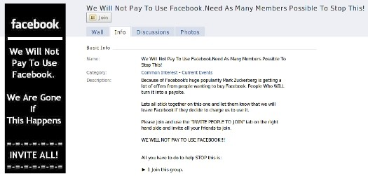 We Will Not Pay For Facebook Scam Refuses to Die