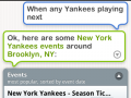 However it had no trouble understanding me when I wanted to go to a Yankee game.