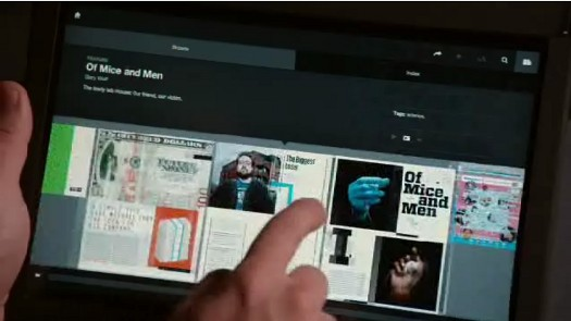 Wired Demos Impressive Tablet App