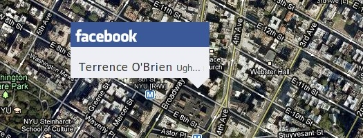 Facebook Ups the Stalker Quotient, Adding Location-Based Updates