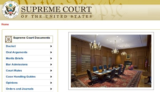 Supreme Court Site Gets Overdue Redesign