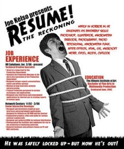 Clever and Creative Resumes From Around the Web