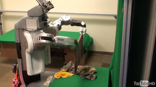 Laundry Bot Folds Towels, Very Slowly