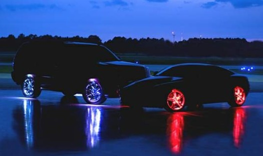 LED MotionLites Highlight Your Rims, Eligibility to Star in Jersey Shore