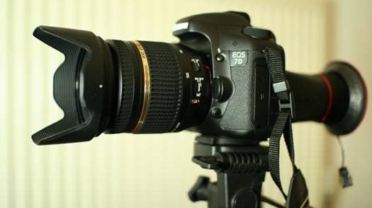Canon 7D rig
