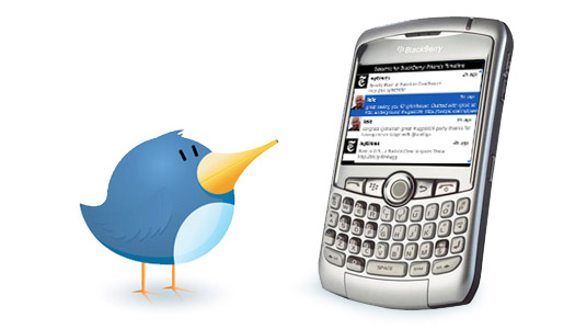 Twitter Apps on Blackberry