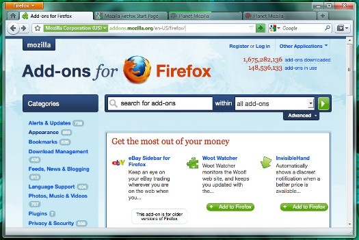Firefox 4 teaser preview