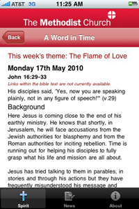 the methodist church iphone app